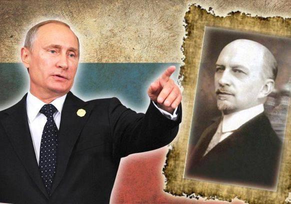 Putin und sein Lieblings-Philosoph