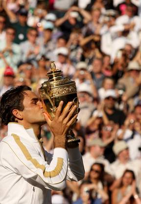 2009 besiegt Federer im Final Andy Roddick