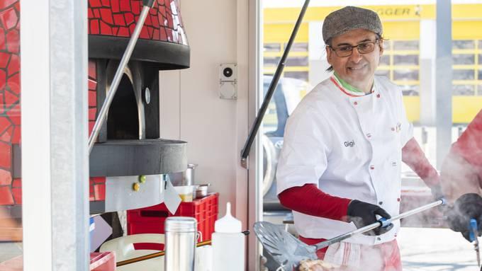 Luigi Costantino alias Gigi: «Pizza aus einem Holzofen schmeckt eindeutig besser.»