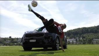 Promotionsvideo FC Aarau mit dem neuen Hauptsponsor Kia Motors.