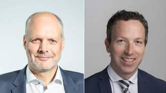 Rolf Cavalli und Patrik Müller.