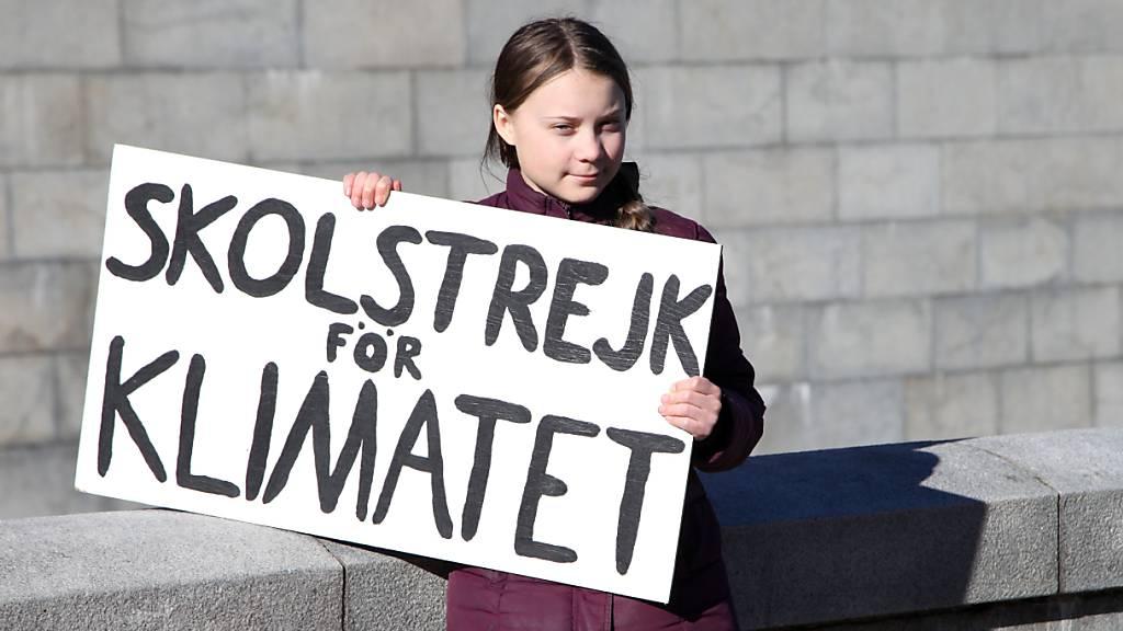 ARCHIV - Alles fing mit ihrem Schulstreik an: Jetzt wird Greta Thunberg aus Schweden, die mit «Fridays für Future» eine weltweite Klimabewegung animiert hat, 18 Jahre alt. Foto: Steffen Trumpf/dpa
