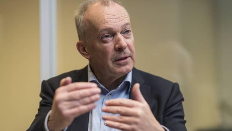 CEO Urs Schäppi sagt, Swisscom habe genug Kapazitäten für Netflix und Homeoffice.