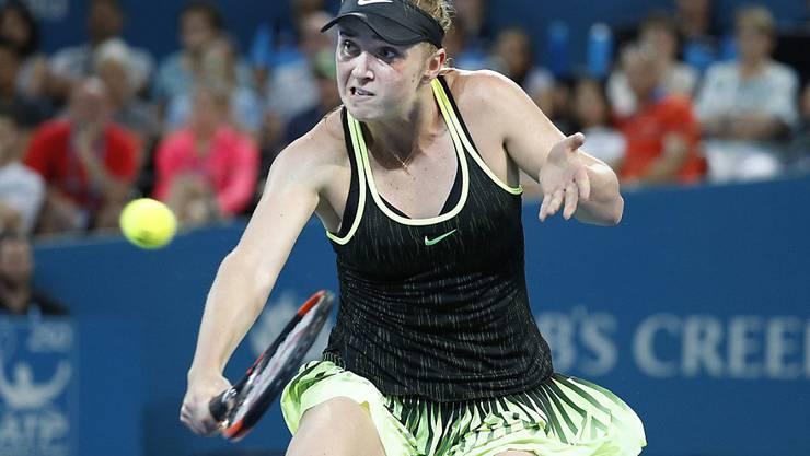 Jelina Switolina eliminierte in den Viertelfinals am Turnier in Brisbane die Weltranglisten-Erste Angelique Kerber