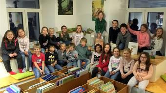 Im November beteiligte sich die Bibliothek Eiken an der Schweizer Erzählnacht unter dem Motto «Mutig, mutig!». zvg
