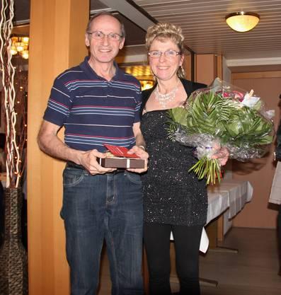 Vereinsmeister 2015: Vreni Gerber und Robert Stuber