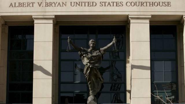 Gerichtsgebäude in Alexandria im US-Bundesstaat Virginia (Archiv)