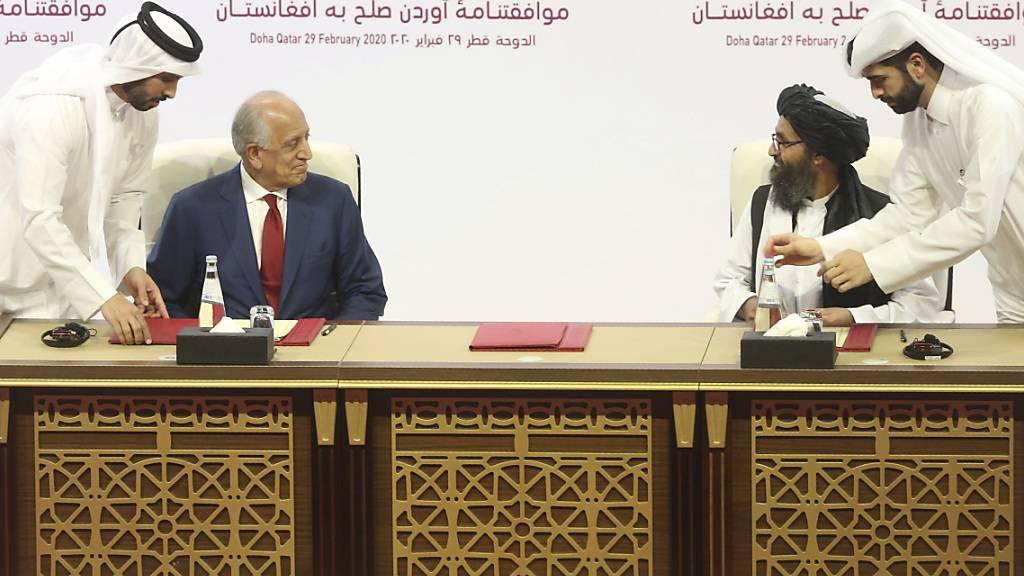 Taliban pochen auf Einhaltung von Doha-Abkommen