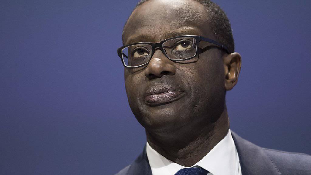 Credit-Suisse-Chef Tidjane Thiam hat keine Ambitionen auf das Präsidentschaftsamt in seinem Geburtsland Elfenbeinküste - er will stattdessen langfristig an der CS-Spitze bleiben. (Archiv)