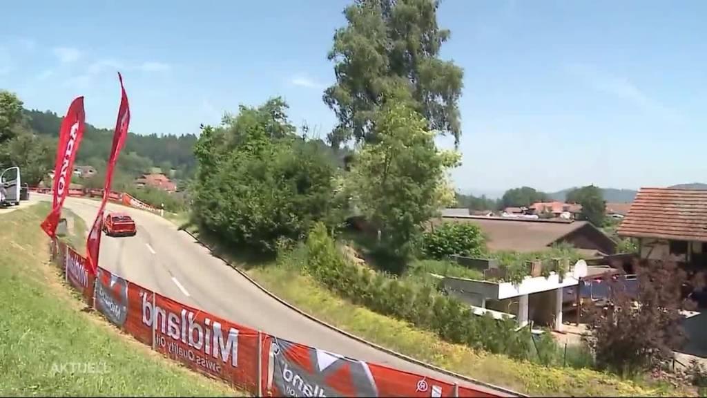 Bergrennen Reitnau: «Es ist gerade ziemlich warm»