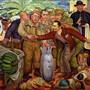 «La Gloriosa Victoria» ist ein Gemälde von Diego Rivera aus dem Jahr 1954. Es zeigt den Staatsstreich, um Präsident Jacobo Arbenz zu stürzen.