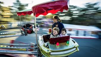Erst 2019 gibt es im Tägi-Areal wieder Karussells an der Herbstmesse. (Archiv)