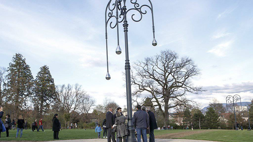 Dieses neue Armenier-Denkmal erhitzt in Genf die Gemüter. Am Freitag wurde es trotz Protesten von türkischer Seite im Parc Trembley eingeweiht.