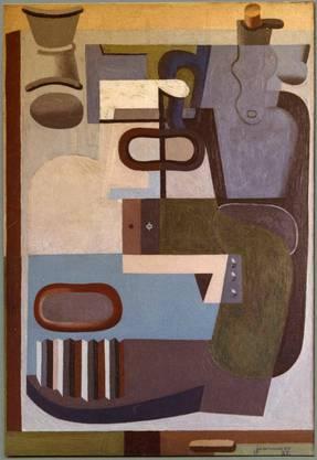 «Nature morte à la bouteille, carafe et coquetier», Le Corbusier.