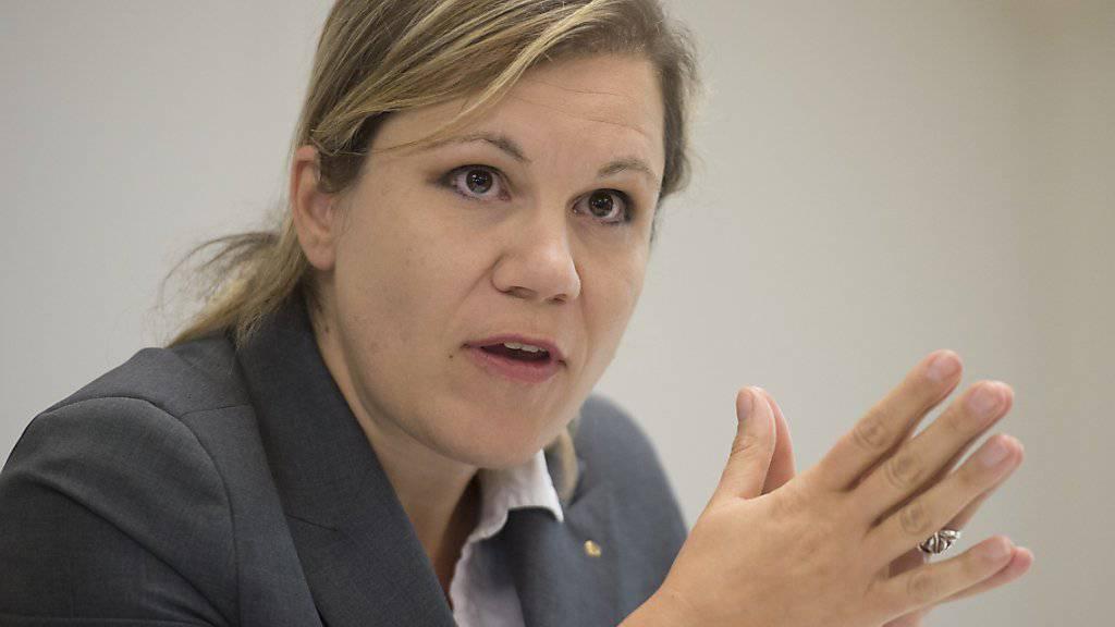 Die Bieler FDP-Finanzdirektorin Silvia Steidle bekämpft die Unternehmenssteuerreform III an vorderster Front. Sie ist Mitglied des bürgerlichen Nein-Komitees, das in den letzten Tagen regen Zulauf erhalten hat. (Archivbild)