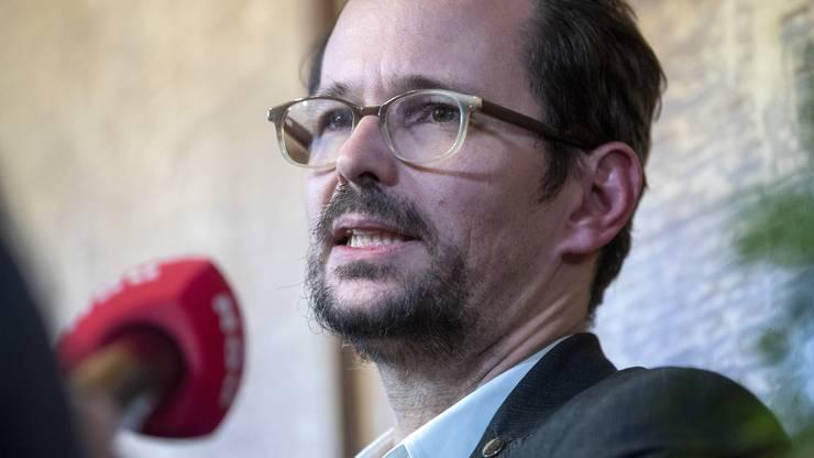 Die Grünen: Fraktionspräsident Balthasar Glättli und Bundesratskandidatin Regula Rytz.