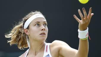 Stefanie Vögele muss weiterhin auf ihren ersten Einzug in einen WTA-Final warten