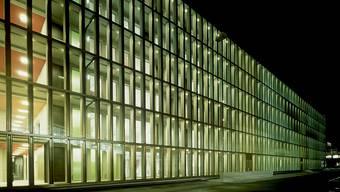 Für das Berufsbildungszentrum in Baden erhielt das Architekturbüro eien Auszeichnung.