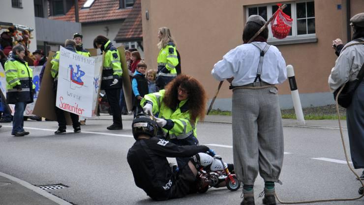 Wenn etwas passiert, sind die Samariter sofort vor Ort