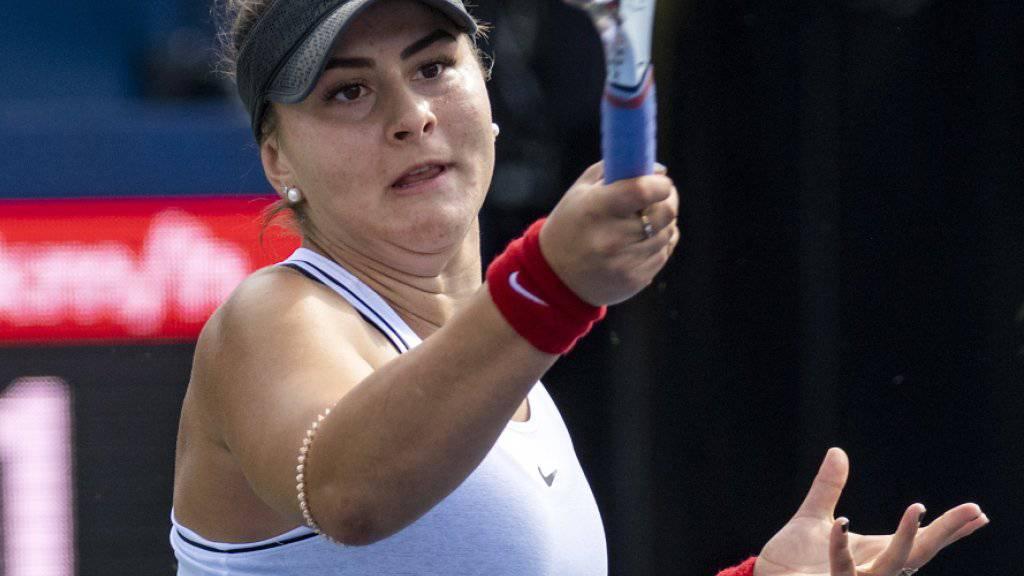 Bianca Andreescu spielt am Sonntag in Toronto um den Titel