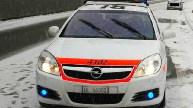 Die Baselbieter Polizei im Einsatz (Archiv)