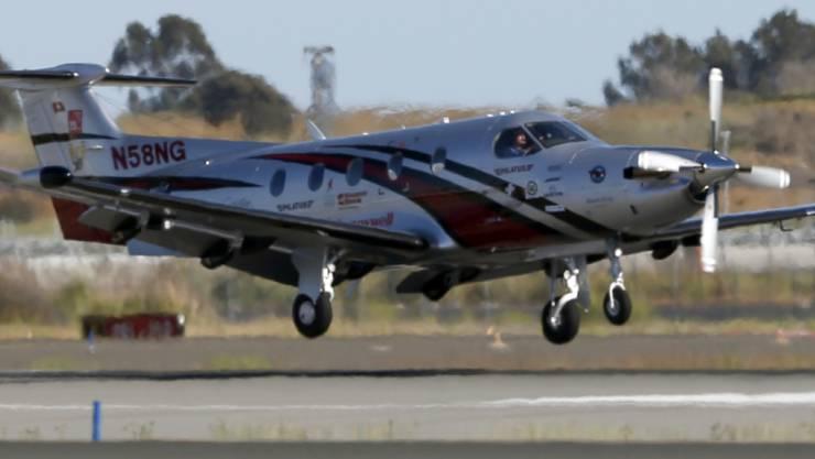 Flugzeughersteller Pilatus hat im vergangenen Jahr mehr Flugzeuge des Typs PC-12 NG verkauft. Insgesamt ging die Zahl der verkauften Flugzeuge aber um vier zurück. (Archiv)
