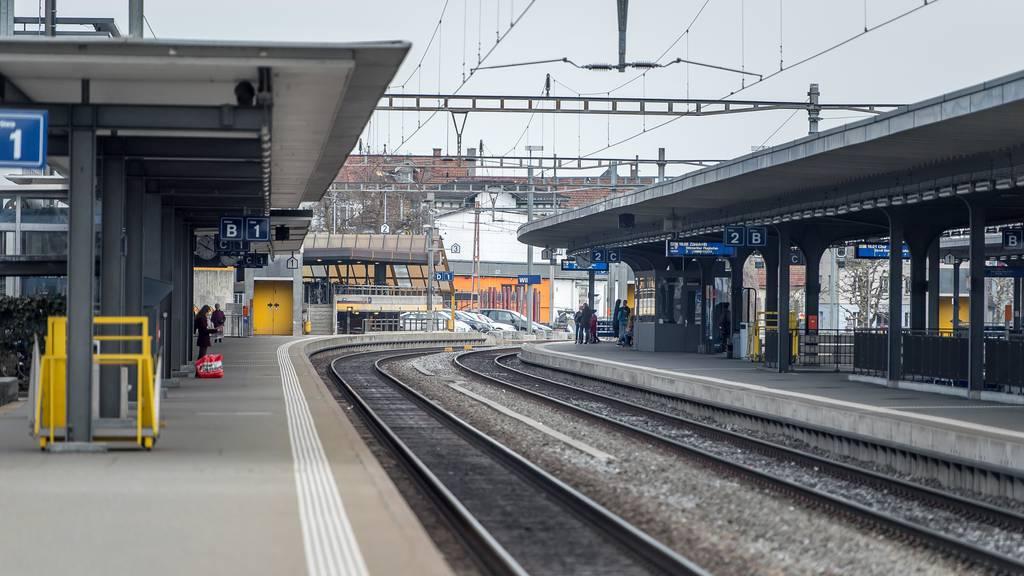 Am Mittwochnachmittag ging am Wiler Bahnhof kurzzeitig nichts mehr. (Archivbild)