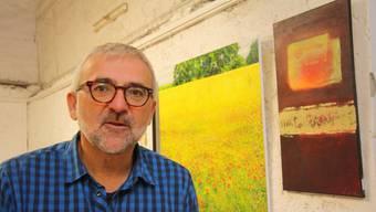 Peter Lukas Meier zieht eine erfolgreiche Bilanz zum vergangenen Kunst-Supermarkt und steht für den Wert «seiner» Kunst ein.