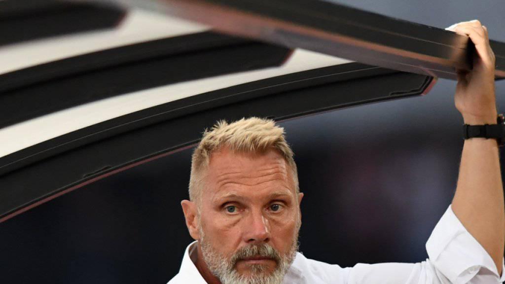 GC-Trainer Thorsten Fink erhält mit Julien Ngoy eine Offensivverstärkung