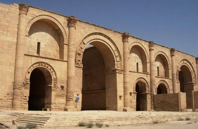 UNESCO-Welterbe: einer der Tempel in Al-Hadra (Archiv)