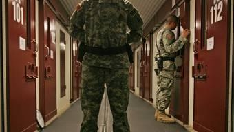 Die Terrorverdächtigen sitzen in Guantánamo ein (Archiv)
