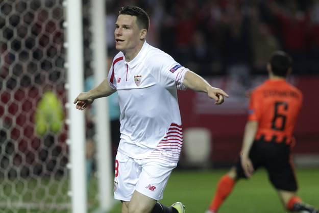 Kevin Gameiro ist eine wichtige Stütze des FC Sevilla.
