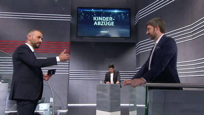 Moderator Mario Grossniklaus nimmt CVP-Nationalrat Philipp Kutter in den Prüfstand.