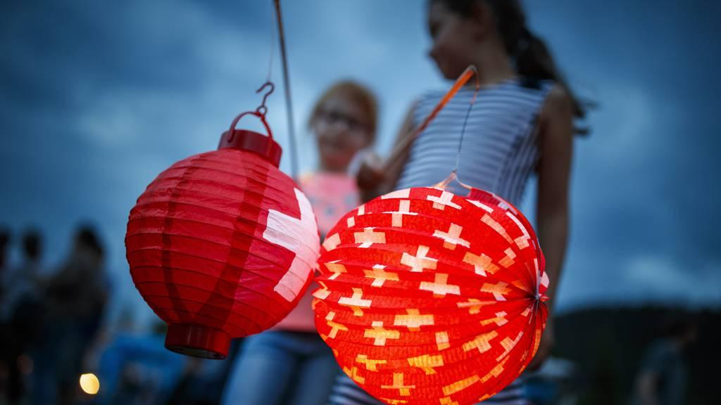 Zum Schweizer Nationalfeiertag gibt es heisse Temperaturen und möglicherweise auch Gewitter.