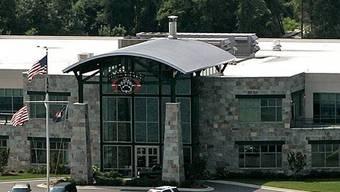 Hauptsitz der privaten Sicherheitsfirma Blackwater, die sich heute XE Services nennt, in Moyock, N.C.