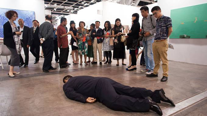 Die Art Basel Hongkong liegt dieses Jahr am Boden