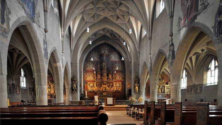 Werte kamen auf, als die Kirchen leer wurden. Denn Gewissheiten (der Religion) gibt es nicht mehr.Georgios Kefalas/Keystone