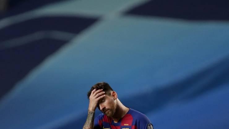 Lionel Messi versteht nach dem 2:8-Debakel die Welt nicht mehr
