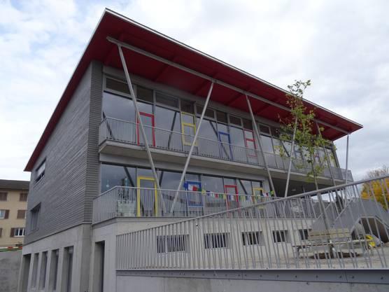 Das neue Schulhaus Lanzrain