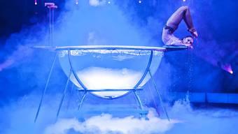 Der Zirkus Nock hob in Frick das Programm «bravo bravissimo» aus der Taufe