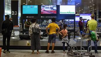 Am Flughafen Zürich fehlen derzeit drei von vier Gästen (27. Juli 2020).