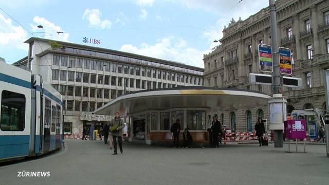 Blackout an der Bahnhofstrasse