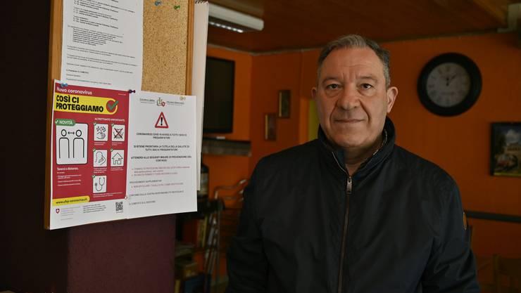 Salvatore Bandiera, Präsident der Colonia Libera Italiana Grenchen