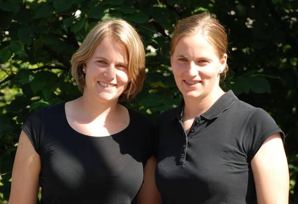 Stefanie (links) und Julia Marty erwarten in Russland ein schwieriges Turnier