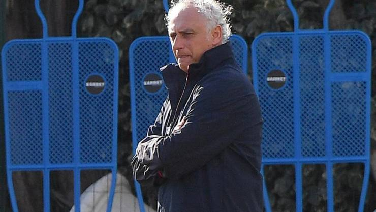 Andrea Mandorlini war nur gerade zwei Monate im Traineramt bei Genoa