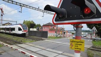 Am 12. August wird in Boswil die Bahnüberführung eingeweiht.
