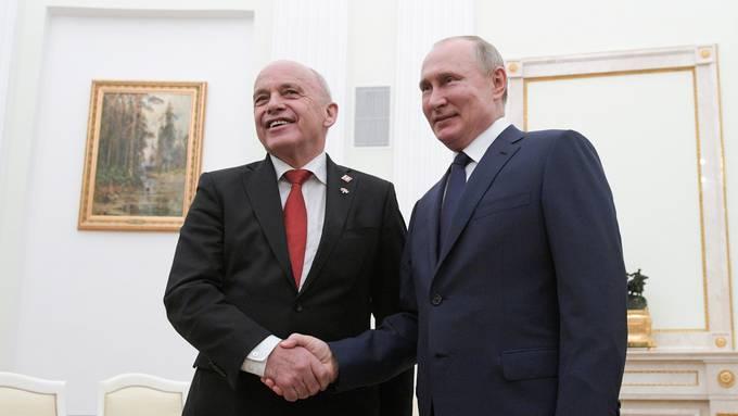 Ueli Maurer trifft Wladimir Putin (21.11.2019)