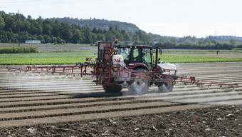 Seit den 70er-Jahren wird Chlorothalonil in der Landwirtschaft eingesetzt. Nun prüft der Bund ein Verbot des Pflanzenschutzmittels. (Symbolbild)