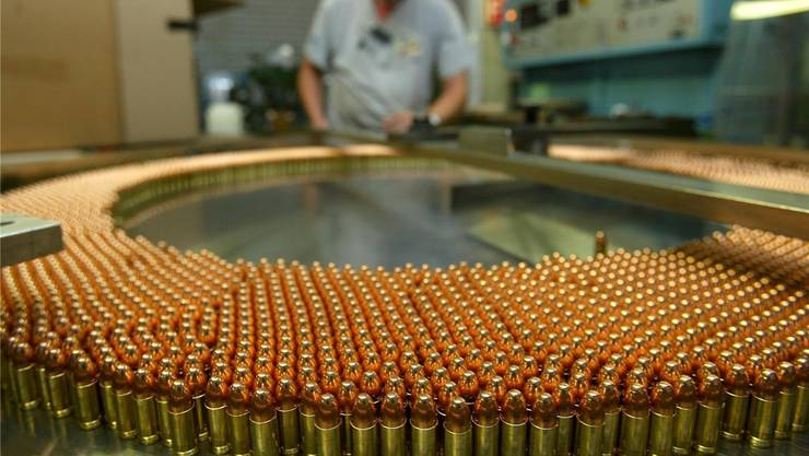 Die Ruag lässt Pläne für den Bau einer Munitionsfabrik in Brasilien fallen. Der Bundesrat war dagegen. (Symbolbild)