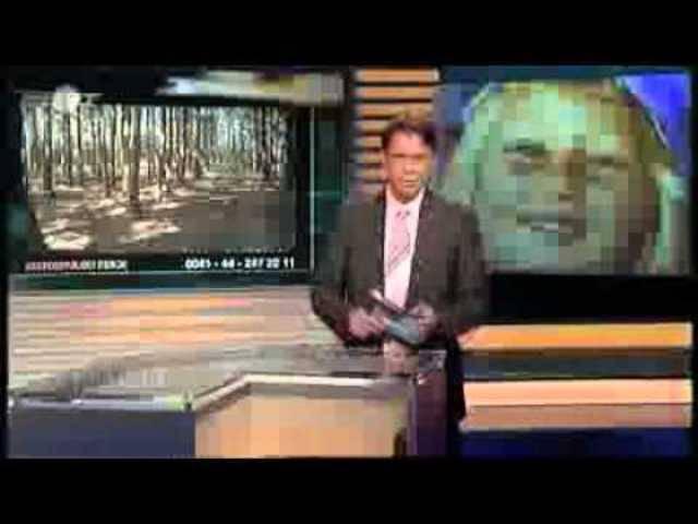 «Aktenzeichen XY ... ungelöst» vom 30. August 2007: Ab Minute 3.52 geht es um den Fall Ylenia.
